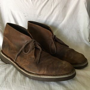 Clarks chukka boots ankle boots size 13 brown